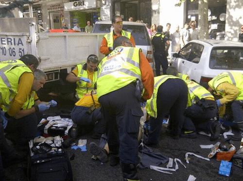 Accidente en Atocha 111 - Ayto