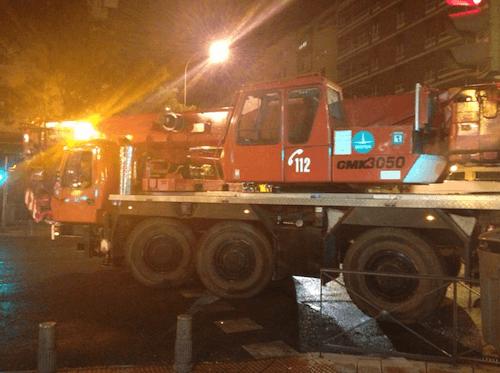 Llegada de los bomberos - L. Torres (Zonaretiro.com)