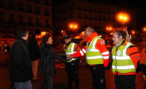 Ana Botella, en la madrugada del 15 al 16 de noviembre - Ayto