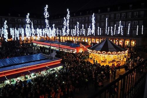 Vista de la Plaza Mayor, este viernes 29 de noviembre - Ayto