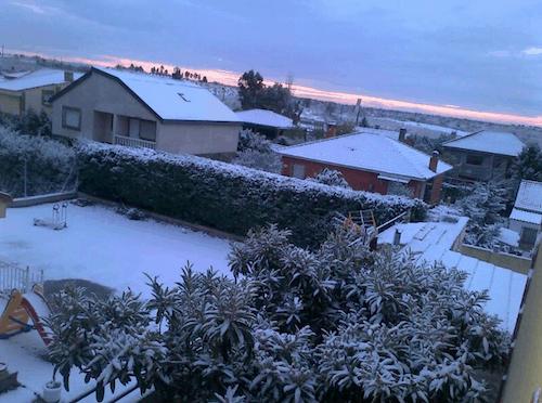 Nieve en Navalcarnero - M. Hernández