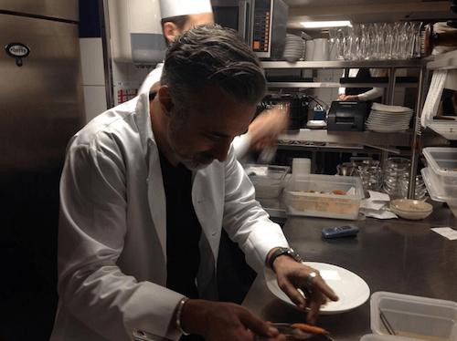 Sergi Arola, en la cocina de 'Vi Cool' - S.A