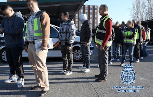 Una operación policial contra miembros de Dominican Don't Play