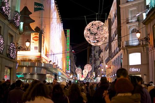 calle preciados navidad
