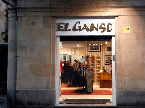 Última tienda de El Ganso, en Salamanca