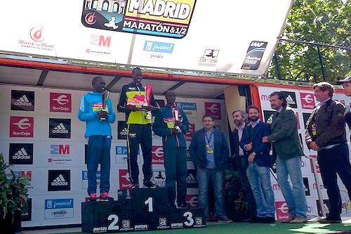 ganador maraton madrid