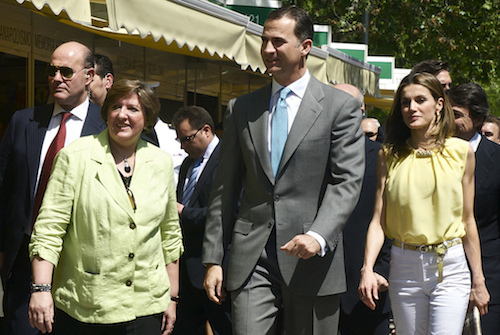 Los Príncipes de Asturias, en el Retiro - G.B (Zonaretiro.com)