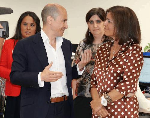 El presidente de Gowex y la alcaldesa de Madrid