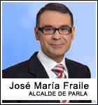 José María Fraile, Alcalde de Parla (PSOE)