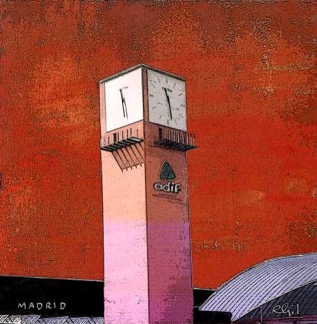 Torre de la Estación de Atocha BA