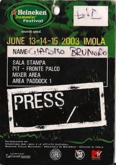 10 concerti memorabili degli Iron Maiden - Heineken Jammin Festival 2004