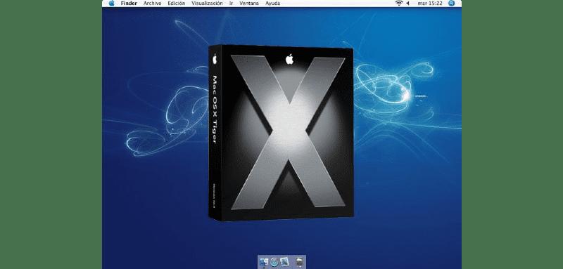 Descargar Mac OS X Tiger 10.4 ISO / DMG image