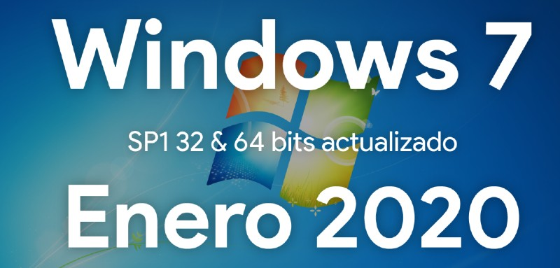 Descargar Windows 7 SP1 Ultimate Actualizado Enero 2020