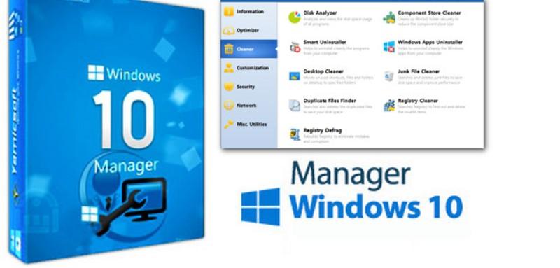 Windows 10 Manager v3.2.9 Full Español + Portable – Optimiza, Ajusta, Repara y Limpia Tu Windows 10 Rápidamente [32-64 Bits]