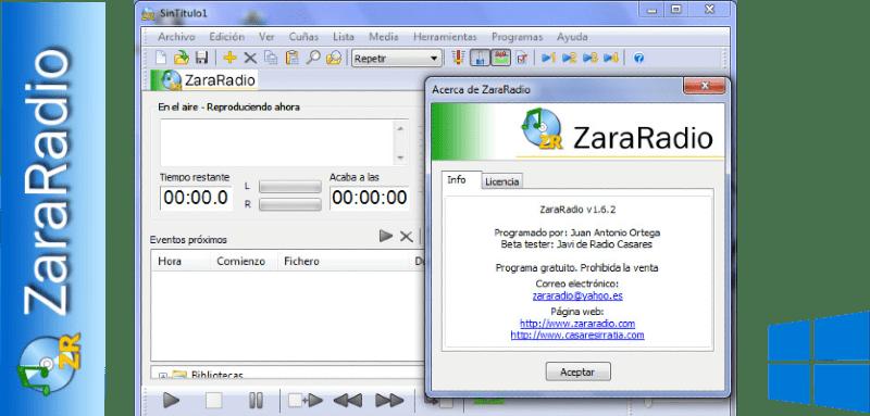 Zara Radio 1.6.2 + Locuciones [Full] [1 Link] [Español]