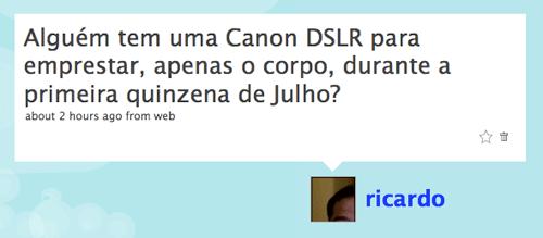 Canon dSLR Ferias