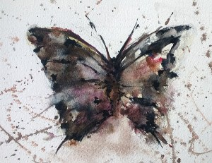 Pink butterfly wp