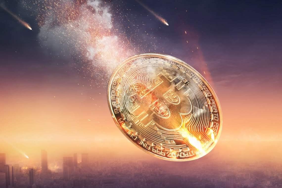 chute du bitcoin