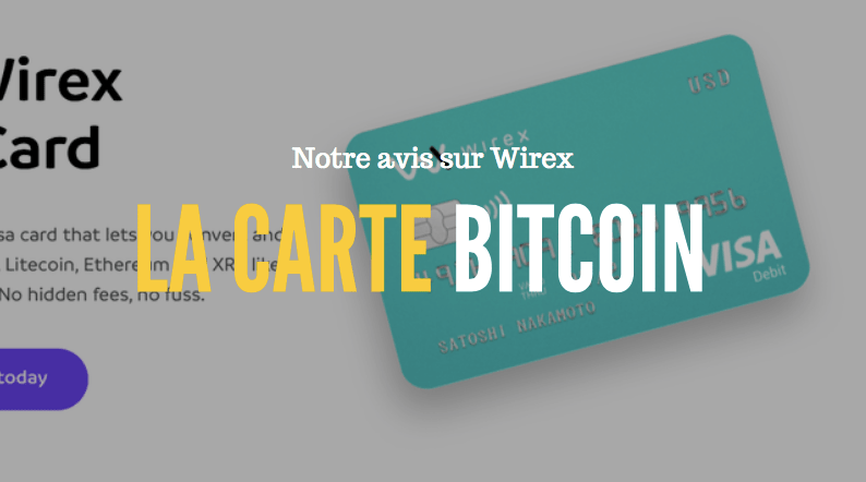carte bancaire bitcoin wirex