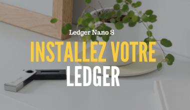installez votre Ledger portefeuille bitcoin