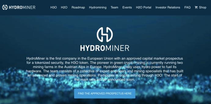 hydrmining blokchain crypto