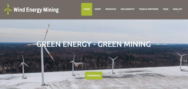 energeie verte blokchain