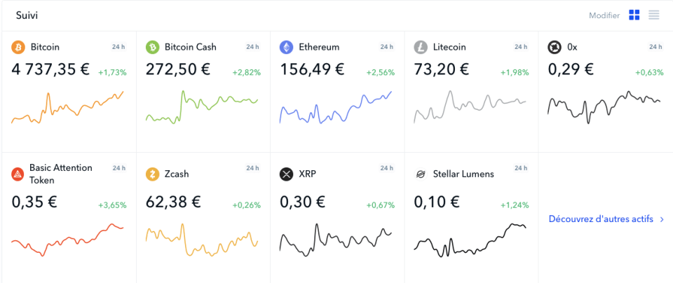 Coinbase acheter des crypto-monnaies