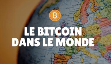 le bitcoin dans le monde