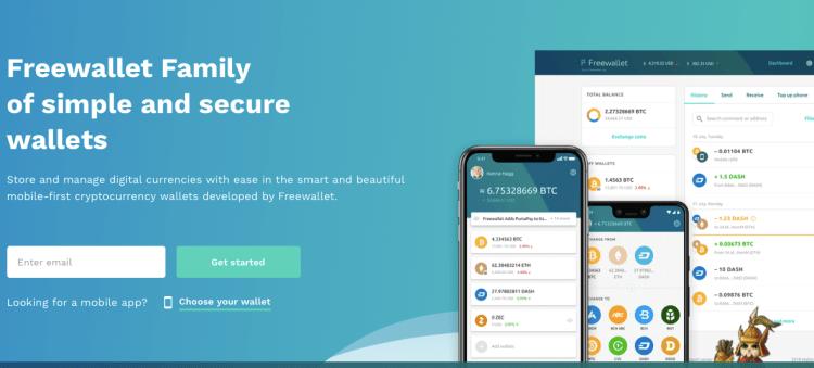 portefeuille bitcoin mobile