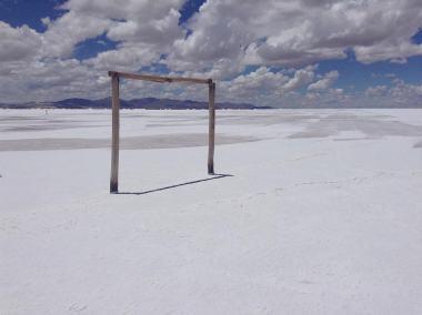 Lac de sel Argentine