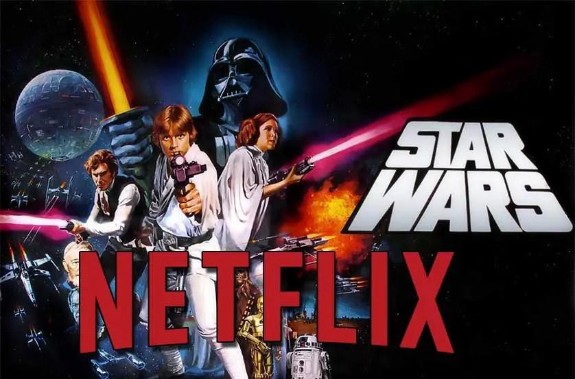 Todas las películas y series de TV de Star Wars en Netflix
