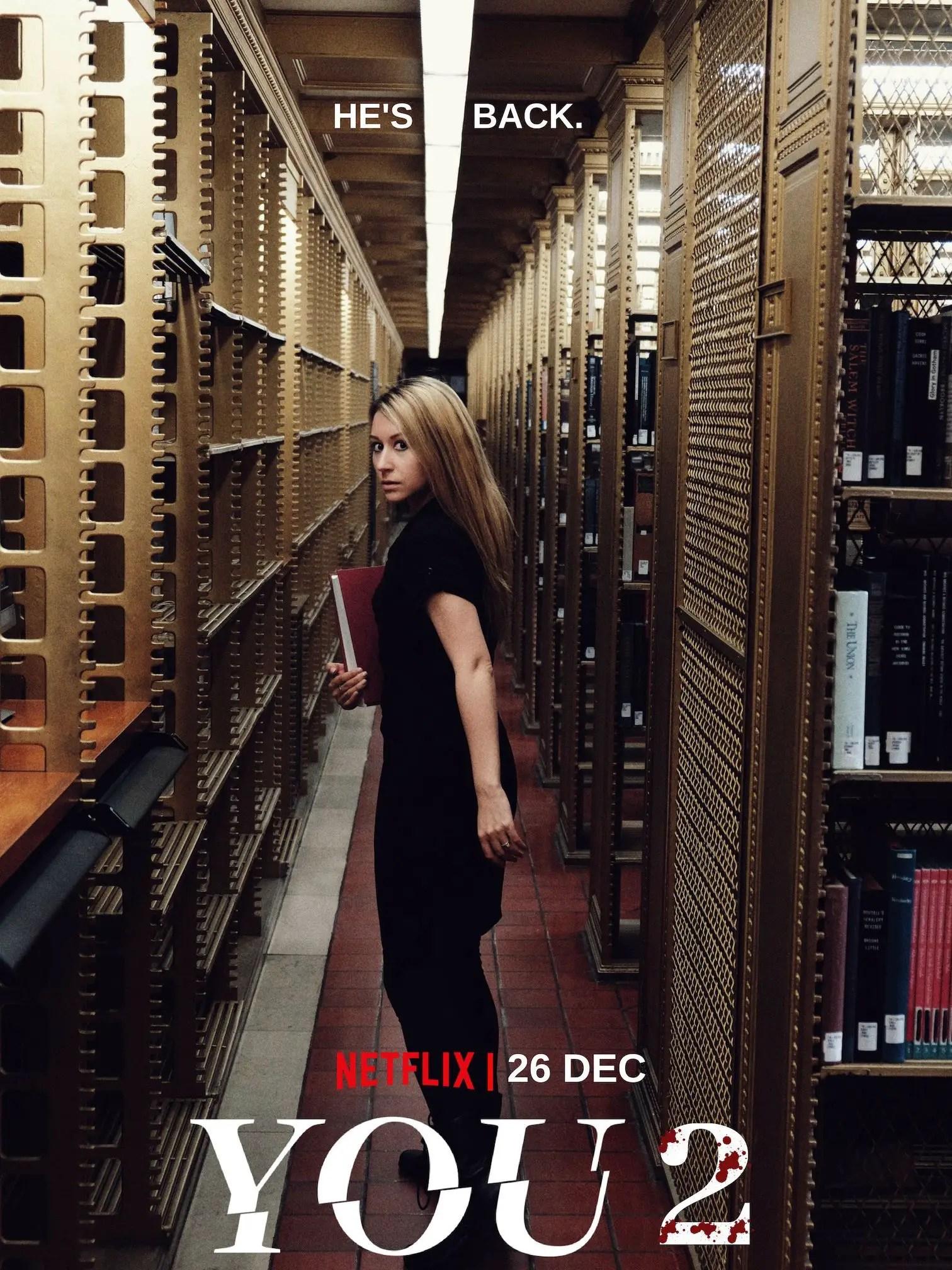 ¿Podremos ver la temporada 2 de YOU en Netflix en Diciembre?