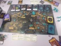 Pandémic Cthulhu à 4, victoire sur le fil avec 44 cartes indices