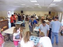 6 tables tournoi ICE COOL