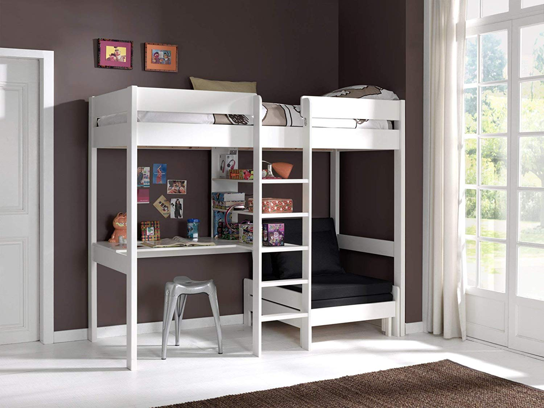les nouveaux lits mezzanine zone led