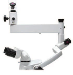 350mm Extension Arm can offer extra long reach for your microscope