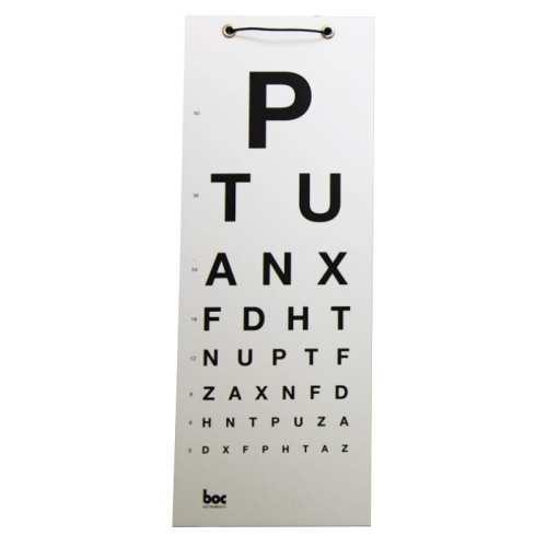 3M Eye Chart PTU