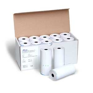 Paper roll for all Spirolab spirometers thermal printer x 10 rolls 112mm x 48mm