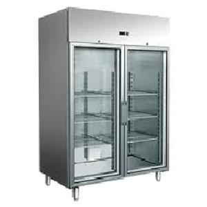 Nuline MF Glass Door Upright Storage Refrigerator 1400L