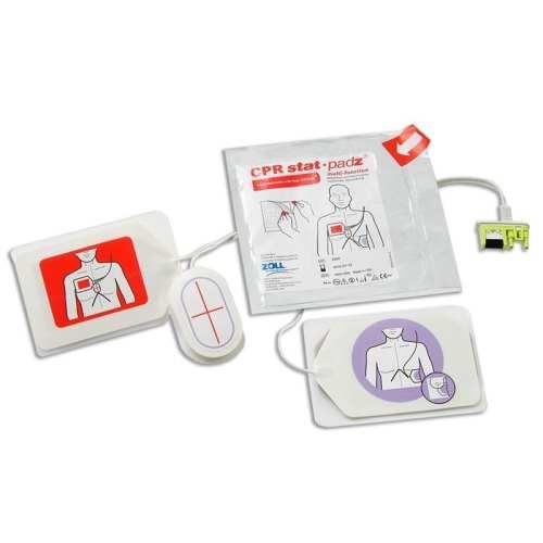 Zoll CPR Stat-padz Defibrillator Electrodes Open
