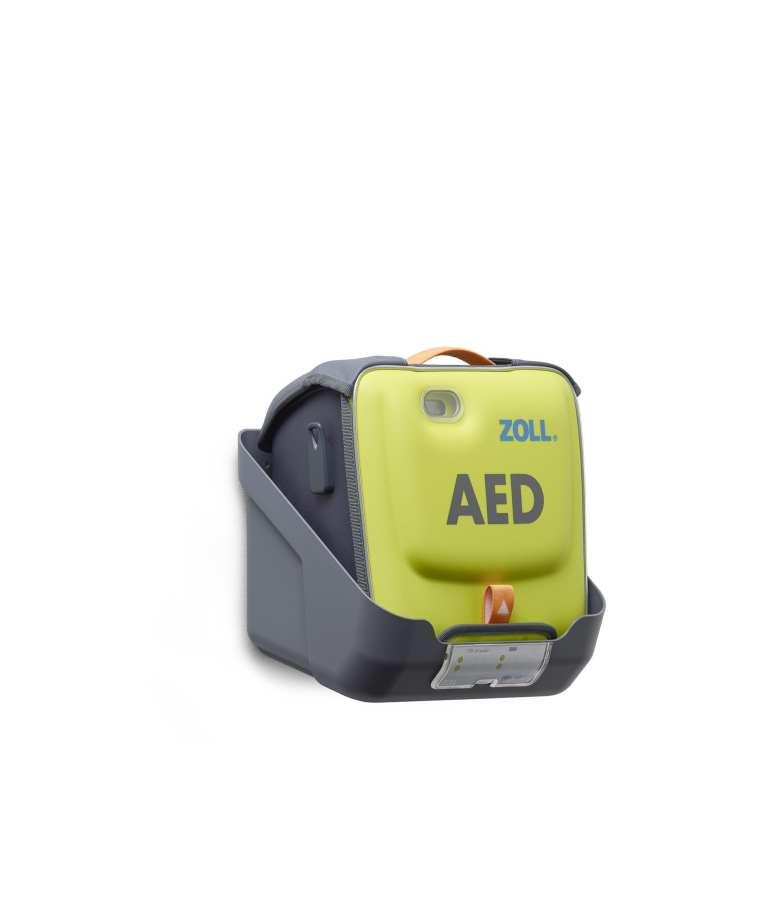 Zoll AED 3 Wall Mount Bracket (Device in Case) Angle