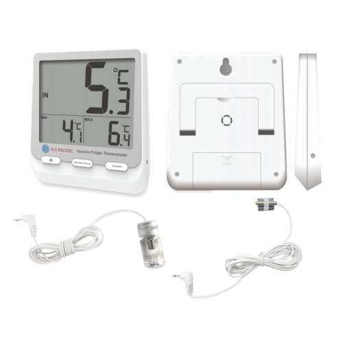 ICS Pacific Digital Vaccine Fridge Thermometer