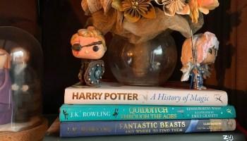 Ik las The Art of Harry Potter en Quidditch through the ages