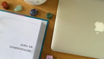 Ik volg een cursus Aura- en chakrahealing!