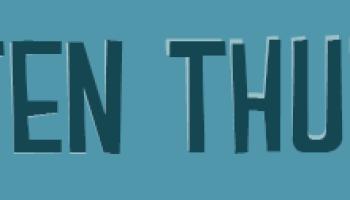 TTT | Top 10 Neurotische Boekgewoontes