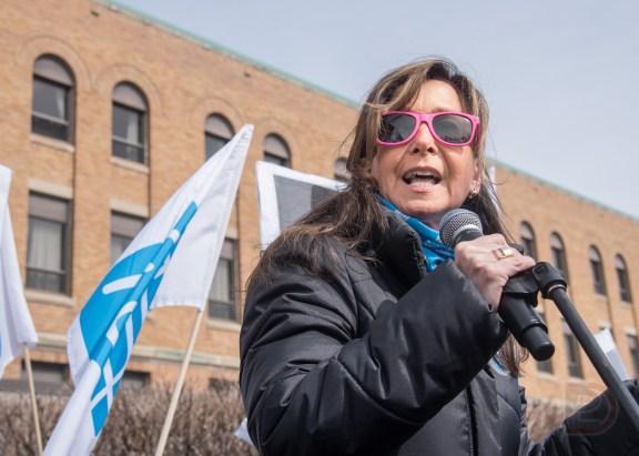 Nancy Bédard, présidente de la FIQ
