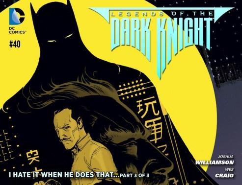 Legends of the Dark Knight #40