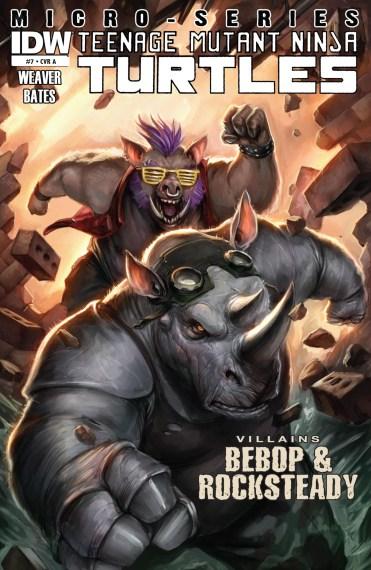 Teenage Mutant Ninja Turtles Villains Micro-Series #7