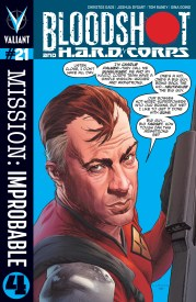Bloodshot and H.A.R.D.CORPS #21