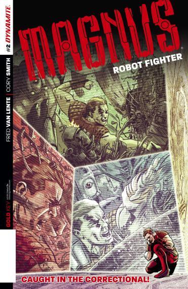 Magnus: Robot Fighter #2